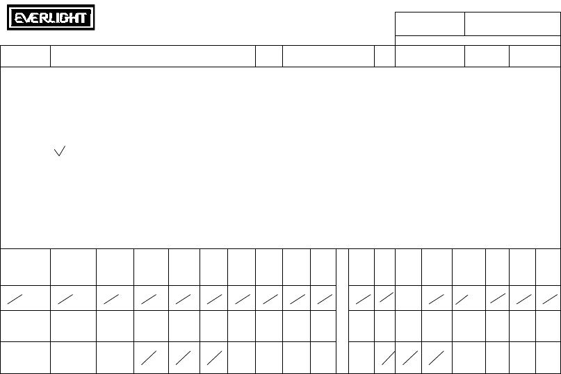小�yaiyc.��c_led类 发光二极体 383-2uyc/s530-a4   total 6  原 1 版变为-- 版