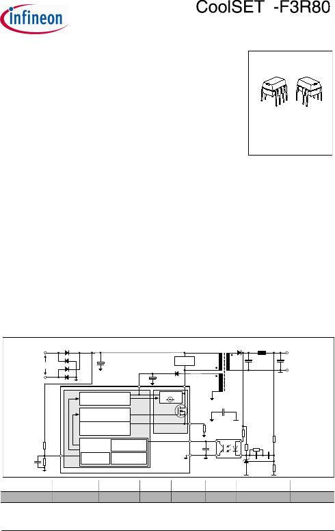 电源管理 ac-dc转换器 ice3ar4780jzxkla1   typepackagemarkingv ds